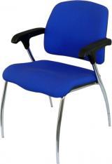 židle KONFERENCE - BZJ 140, kostra chrom kancelárská stolička