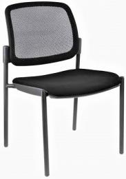 židle OPEN CHAIR 10 - kostra černá, bez područek kancelárská stolička