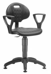 židle 1290 3009 PU NOR, plast, kluzáky