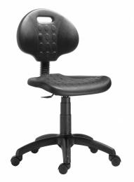 židle 1290 3000 PU NOR, plast, kolečka