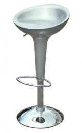 barové židle EMILIO barva stříbrná