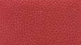 židle FISH BONES černý plast, červená kůže