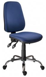 pracovní židle 1140 ASYN C chrom