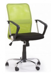 židle TONY zelená kancelárská stolička