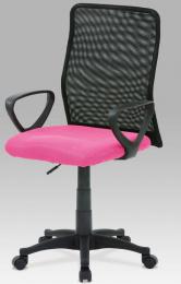 Kancelářská židle KA-B047 PINK kancelárská stolička