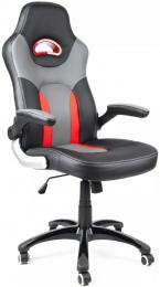 kancelářské křeslo MARANELLO černo-červené