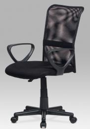 Kancelářská židle KA-N844 BK kancelárská stolička