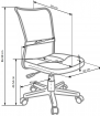 Halmar Dětská židle DINGO - barva fialová