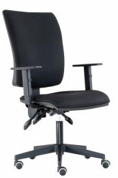 kancelářská židle LARA ASYNCHRO-skladová BLACK 27
