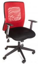 kancelářská židle CORTE červená