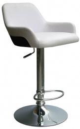 barová židle 2-84 červeno/černá, SLEVA 15S kancelárská stolička
