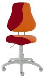 dětská židle FUXO S-line oranžovo-vínová