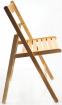skládací židle SMART PŘÍRODNÍ buk kancelárská stolička
