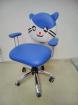 Dětská židle Tom modrá sleva č. ML011 kancelárská stolička