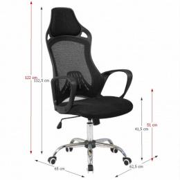 Kancelářská židle ARIO, černá kancelárská stolička