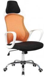Kancelářská židle ARIO, oranžová kancelárská stolička