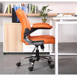 Kancelářské křeslo GARED, oranžové kancelárské kreslo
