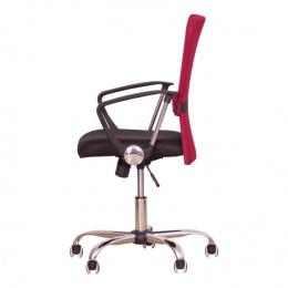 Kancelářská židle AEX, červená kancelárská stolička