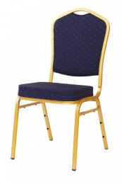 banketová židle Standard Line ST370 modro - zlatá