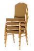banketová židle Standard Line ST633 hnědo - zlatá kancelárská stolička