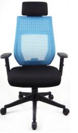 Kancelářská židle CELESTA modrá, sleva č. A1184.sek kancelárská stolička