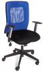 židle CORTE modrá , sleva č. A1198.sek kancelárská stolička