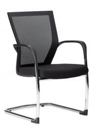 židle KOMFORT - BZJ 240 černá látka