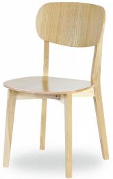 židle Robinson dub masiv, látka