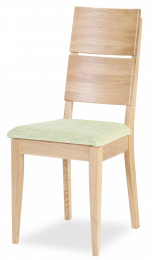 židle Spring K2 dub masiv, látka