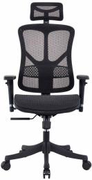 kancelářská židle GEMINI JNS-526, černá