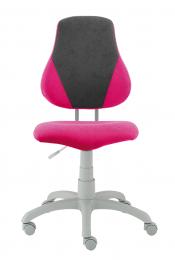 dětská rostoucí židle FUXO V-line růžovo-šedá, č. AOJ069
