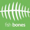 židle FISH BONES PDH šedý plast, bílá koženka PU480329, č. AOJ074