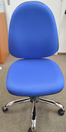 židle PANTHER ASYN C D4 modrá, č. AOJ092