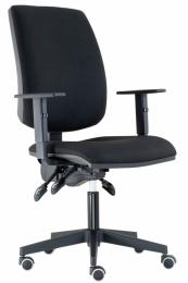 Kancelářská židle YORK ŠÉF ASYNCHRO-skladová BLACK 27