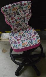 dětská židle PETIT BLACK 3, opěrný kruh, č. AOJ318
