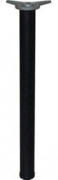 kulatá noha v odstínu RAL černá