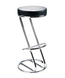židle ZEUS černá koženka