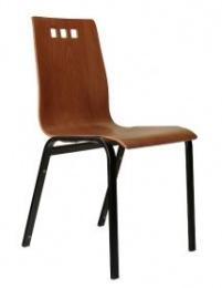 dřevěná židle BERNI bez područek