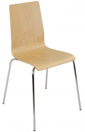 dřevěná židle LILLY , kostra šedá
