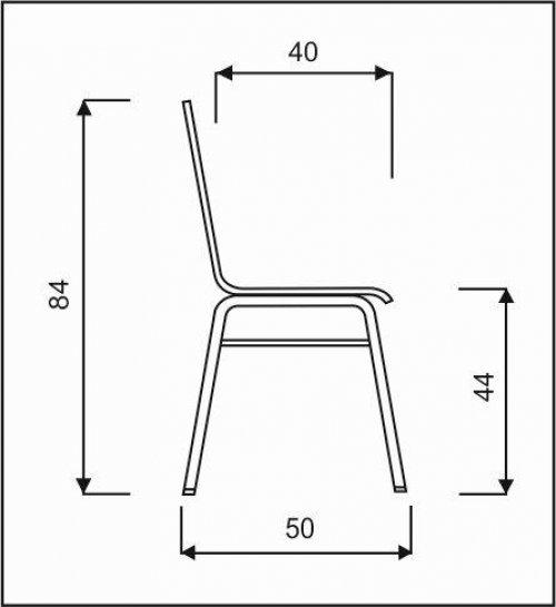 dřevěná židle VIOLA
