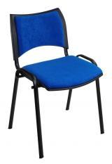 konferenční židle SMART čalouněná kancelárská stolička