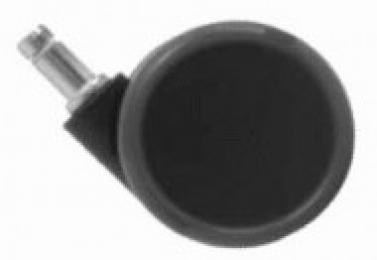 Kolečko zátěžové TREND pogumované průměr 65mm, čep 11mm