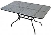 Kovový zahradní stůl TAKO 145x90cm - U506