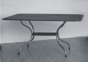 Kovový zahradní stůl TAKO 160x95cm - U507
