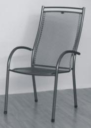židle kovová ELTON U007