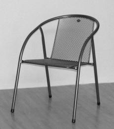 židle kovová IRIS U005