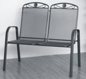 židle kovová SÁGA dubl U002 kancelárská stolička