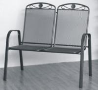 židle kovová SÁGA dubl U002