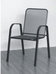 židle kovová SÁGA nízká U001