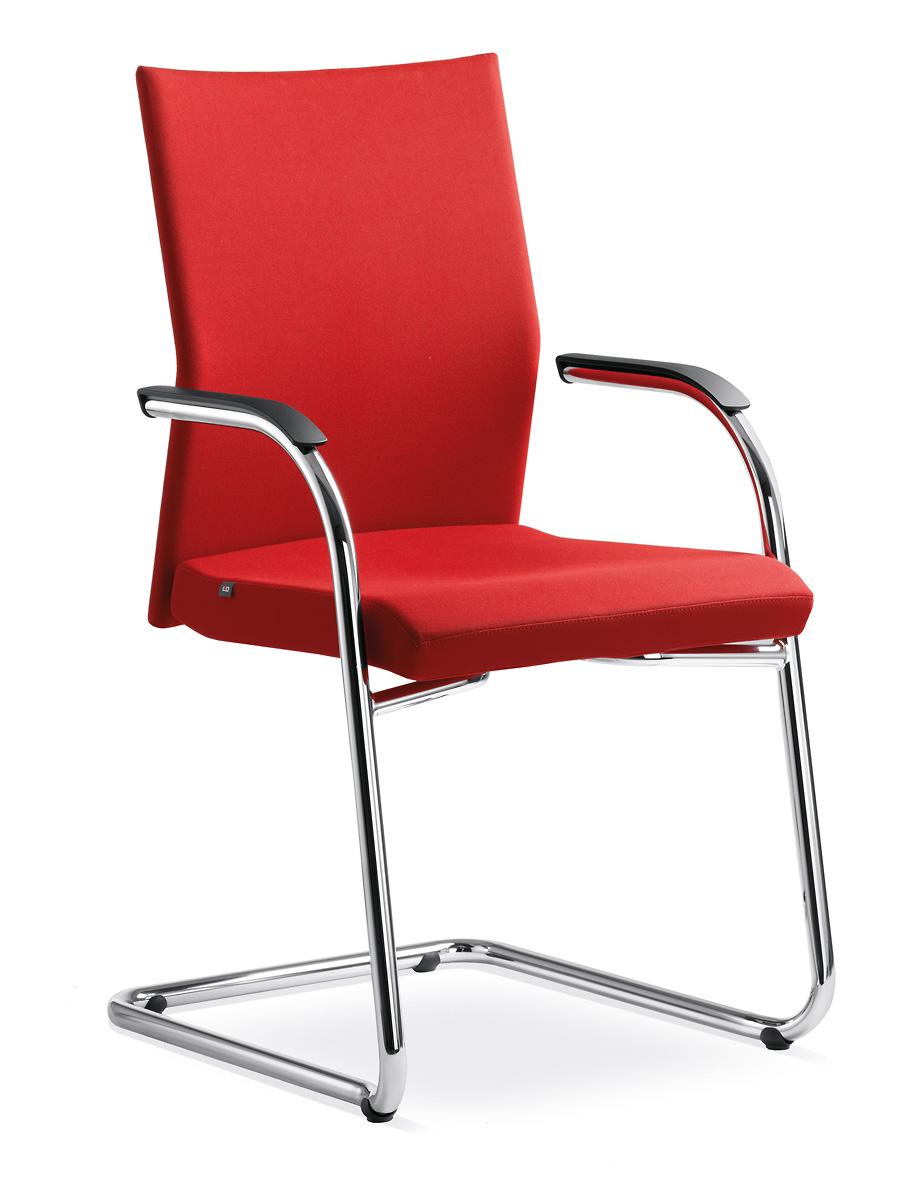 židle WEB OMEGA 410-KZM-N1, kostra černá kancelárská stolička